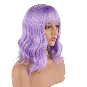 Worn once- Lilac wig
